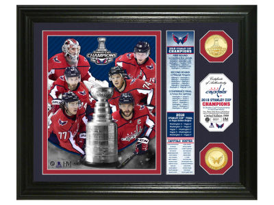 "Washington Capitals Highland Mint 2018 NHL Stanley Cup Champ ""Banner"" Bronze Coin Photo Mint"