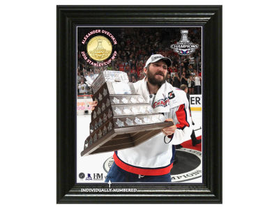 "Washington Capitals Highland Mint 2018 NHL Stanley Cup ""MVP"" Bronze Coin Photo Mint"