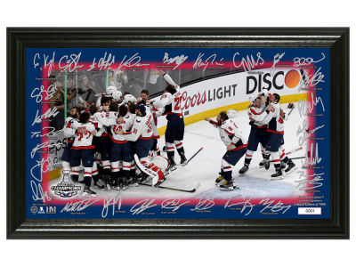 "Washington Capitals Highland Mint 2018 NHL Stanley Cup Champ ""Celebration"" Signature Rink"