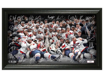 Washington Capitals Highland Mint 2018 NHL Stanley Cup Champ Signature Rink