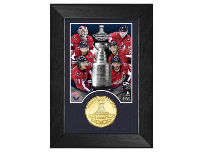 Washington Capitals Highland Mint 2018 NHL Stanley Cup Champ Bronze Coin M-Series