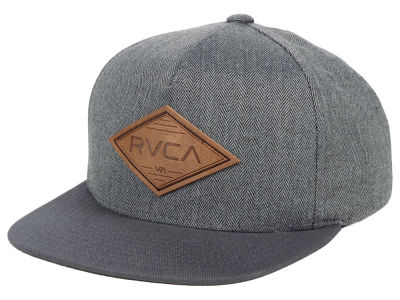 RVCA Youth Woods Snapback Cap