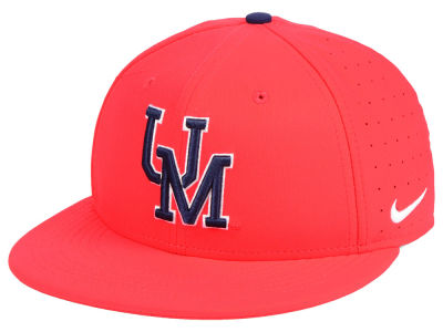 Ole Miss Rebels Nike NCAA Aerobill True Fitted Baseball Cap