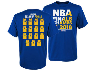 Golden State Warriors Outerstuff 2018 NBA Youth Champ Roster T-Shirt