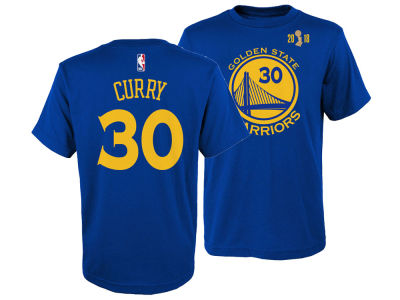 Golden State Warriors Stephen Curry Outerstuff 2018 NBA Youth Finals Champ Player T-Shirt