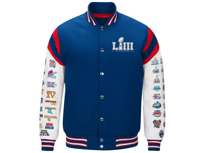 Super Bowl LIII G-III Sports NFL Men's Super Bowl Home Team Varsity Jacket