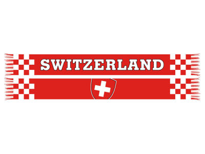 Switzerland Soccer National Team Scarf