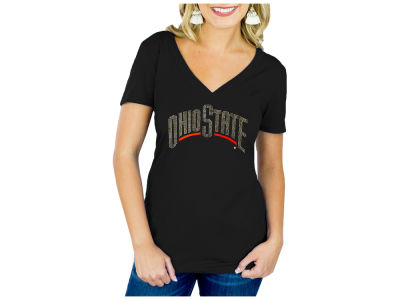 Ohio State Buckeyes Gameday Couture NCAA Women's Bling T-Shirt