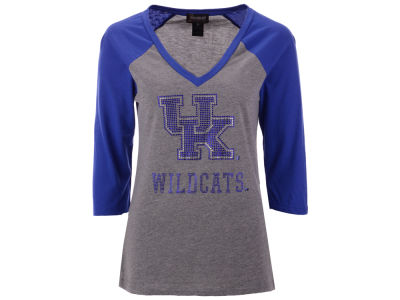 Kentucky Wildcats Gameday Couture NCAA Women's Bling Raglan T-Shirt