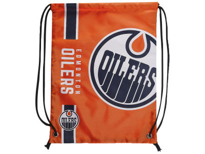 Edmonton Oilers Drawstring Big Logo Bag