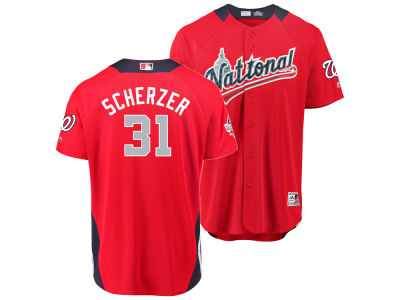 Washington Nationals Max Scherzer 2018 MLB Men's All Star Game Home Run Derby Jersey