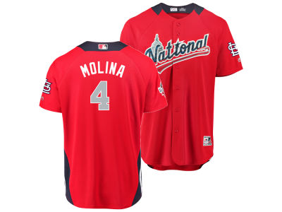 St. Louis Cardinals Yadier Molina 2018 MLB Men's All Star Game Home Run Derby Jersey