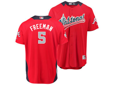 Atlanta Braves Freddie Freeman 2018 MLB Men's All Star Game Home Run Derby Jersey