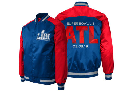 Super Bowl LIII G-III Sports NFL Men's The Dugout Satin Jacket