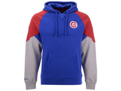 Chicago Cubs Mitchell & Ness MLB Men's Trading Block Hoodie