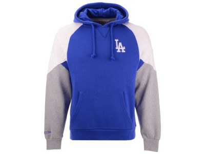 Los Angeles Dodgers Mitchell & Ness MLB Men's Trading Block Hoodie