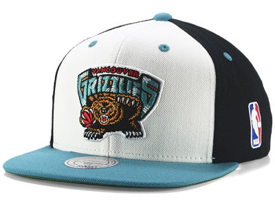 Vancouver Grizzlies Mitchell & Ness NBA Ol Skool Snapback Cap