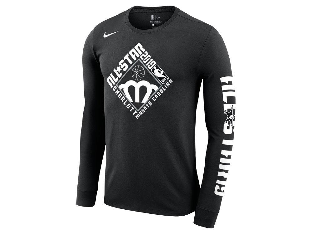 2b316a31d NBA Logo All-Star 2019 Nike Men s All-Star Week Logo Long Sleeve T-Shirt
