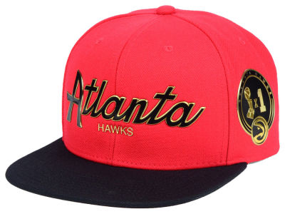 Atlanta Hawks Mitchell & Ness NBA City Champs Snapback Cap