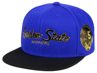 Golden State Warriors Mitchell & Ness NBA City Champs Snapback Cap
