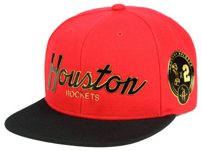 Houston Rockets Mitchell & Ness NBA City Champs Snapback Cap