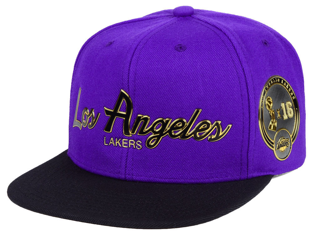 new arrival 5bde1 96a20 ... greece los angeles lakers mitchell ness nba city champs snapback cap  lids 18008 348bf