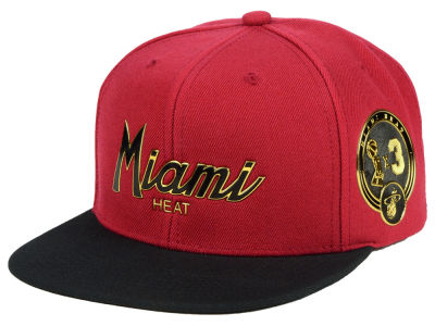 Miami Heat Mitchell & Ness NBA City Champs Snapback Cap