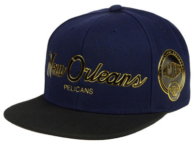 New Orleans Pelicans Mitchell & Ness NBA City Champs Snapback Cap