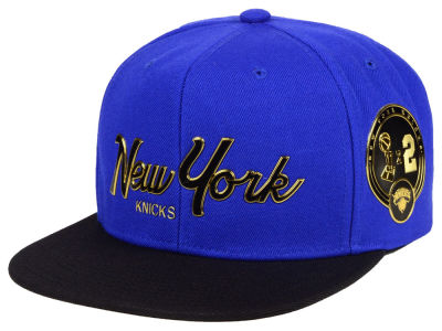 New York Knicks Mitchell & Ness NBA City Champs Snapback Cap