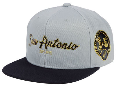 San Antonio Spurs Mitchell & Ness NBA City Champs Snapback Cap