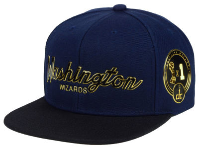Washington Wizards Mitchell & Ness NBA City Champs Snapback Cap