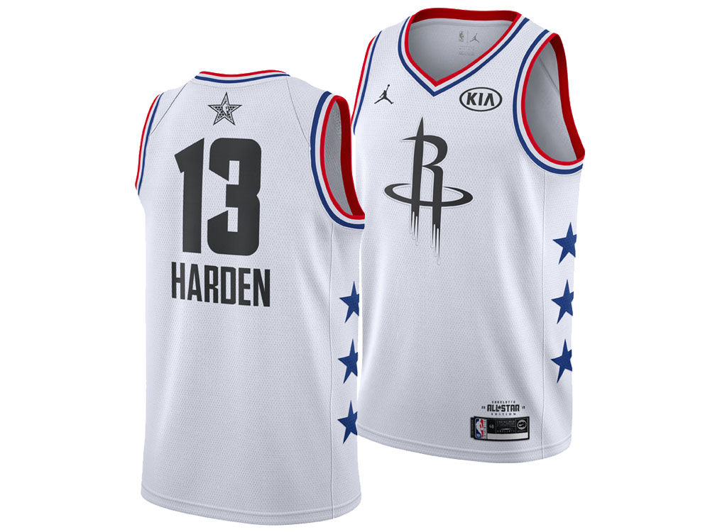 970e2ea1d Houston Rockets James Harden Jordan 2019 NBA Men s All-Star Swingman Jersey