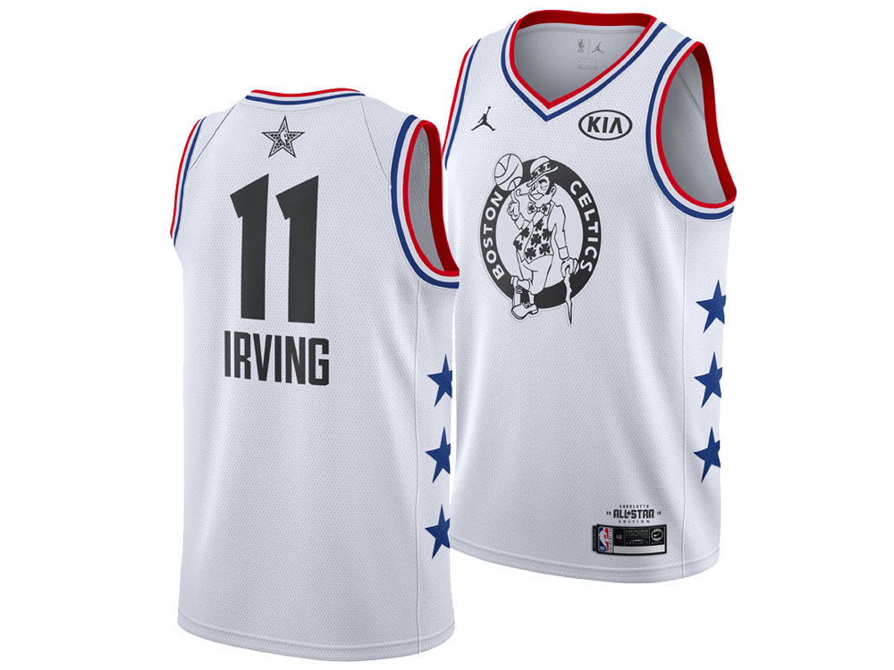 c4937addb41 Boston Celtics Kyrie Irving Jordan 2019 NBA Men s All-Star Swingman Jersey