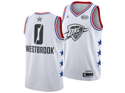 check out 6077a 49eb7 top quality russell westbrook jersey medium d125f a8317