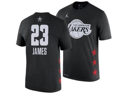Los Angeles Lakers LeBron James Jordan 2019 NBA Men s All-Star Player T- Shirt c1bc861d444f4