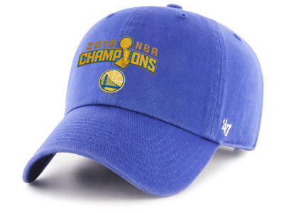 Golden State Warriors '47 2018 NBA Finals Champ Secondary '47 CLEAN UP Cap