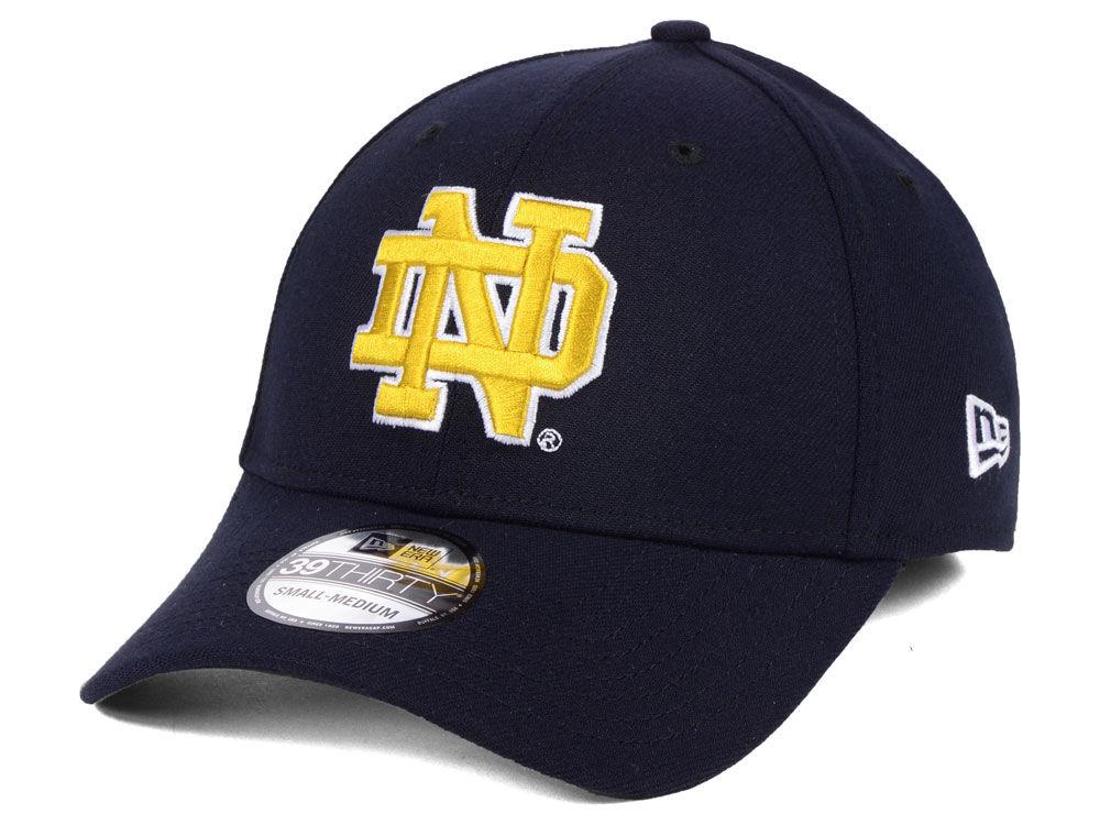 Notre Dame Fighting Irish New Era NCAA College Classic 39THIRTY Cap ... 51b31e39b3e4