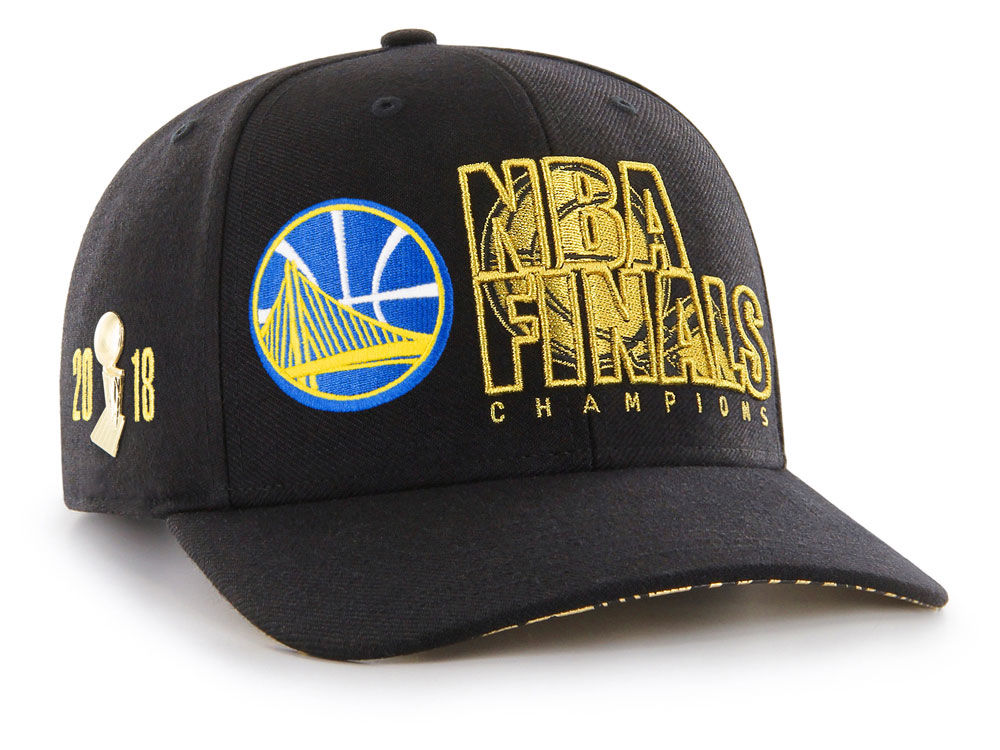 Golden State Warriors  47 2018 NBA Pintrill Champ Cap  9b532a43e9a