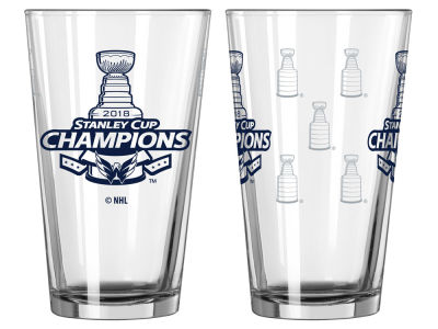 Washington Capitals 16oz Satin Etch Pint - EVENT