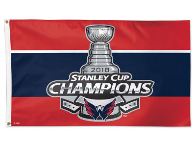 Washington Capitals Wincraft Deluxe Flag - EVENT