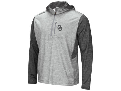 Oklahoma Sooners Colosseum NCAA Men's Reflective Quarter Zip Pullover