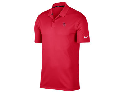 Oklahoma Sooners Nike Golf NCAA Men's Victory Solid Polo Shirt