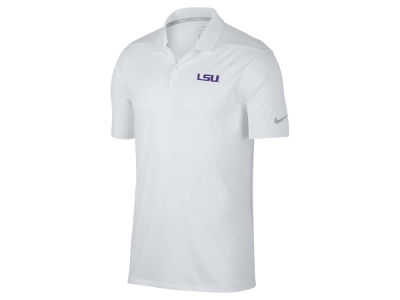 LSU Tigers Nike Golf NCAA Men's Victory Solid Polo Shirt