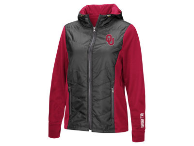 Oklahoma Sooners Colosseum NCAA Women's Mogul Full Zip Jacket