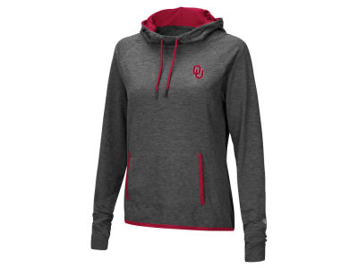 Oklahoma Sooners Colosseum NCAA Women's Cowl Neck Hooded Sweatshirt