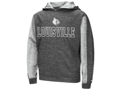 Louisville Cardinals Colosseum NCAA Youth Reflective Hooded Sweatshirt