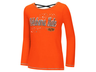 Oklahoma State Cowboys Colosseum NCAA Youth Girls Crosscross Long Sleeve T-Shirt