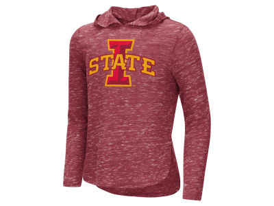 Iowa State Cyclones Colosseum NCAA Youth Girls Hooded Long Sleeve T-Shirt