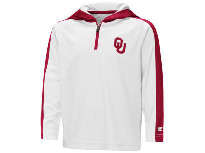 Oklahoma Sooners Colosseum NCAA Toddler Hooded Quarter Zip Pullover