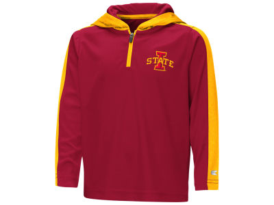 Iowa State Cyclones Colosseum NCAA Toddler Hooded Quarter Zip Pullover